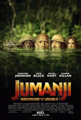 Jumanji : Bienvenue dans la jungle Movie Poster