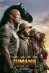 Jumanji: The Next Level Movie Poster Movie Poster
