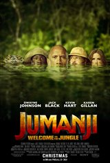 Jumanji: Welcome to the Jungle (Opens Wed Dec 20) Poster