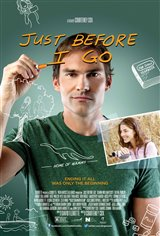Just Before I Go Movie Poster Movie Poster