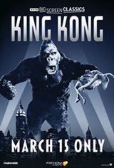 King Kong (1933) presented by TCM Movie Poster