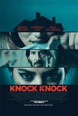 Knock Knock (v.o.a.) Affiche de film