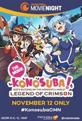 KonoSuba - God's Blessing on This Wonderful World!: Legend of Crimson Movie Poster