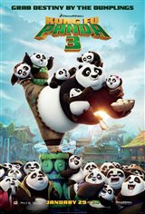 Kung Fu Panda 3 Movie Poster Movie Poster