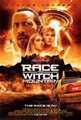 La course vers la montagne ensorcelée Movie Poster