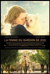 La femme du gardien de zoo Affiche de film