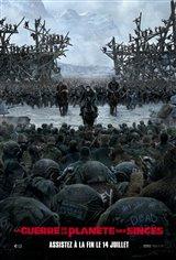 La guerre de la planète des singes Affiche de film