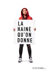 La haine qu'on donne Affiche de film