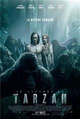 La légende de Tarzan Affiche de film