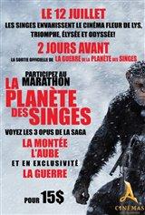 La planète des singes : Marathon Large Poster