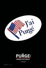 La purge : L'année électorale Affiche de film