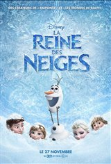 La reine des neiges Movie Poster