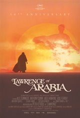 Lawrence of Arabia 50th Anniversary Event: Digitally Restored Movie Poster
