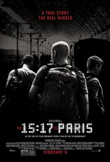 Le 15:17 pour Paris Movie Poster