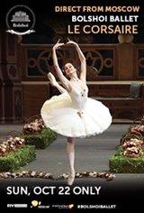 Le Corsaire - Bolshoi Ballet Movie Poster