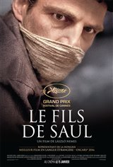 Le fils de Saul (v.o. internationale, s.-t.f.) Affiche de film