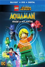 LEGO DC Comics Super Heroes: Aquaman - Rage of Atlantis Movie Poster Movie Poster