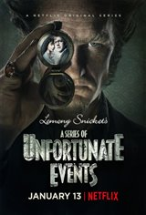 Lemony Snicket's A Series of Unfortunate Events (Netflix) Movie Poster