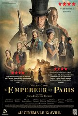 L'empereur de Paris Affiche de film