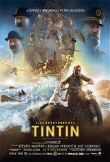 Les aventures de Tintin 3D Movie Poster