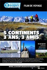 Les Aventuriers Voyageurs : 5 continents, 3 ans 4 amis Affiche de film