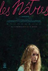 Les Nôtres (v.o.f.) Affiche de film