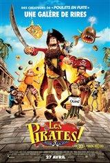 Les pirates ! Bande de nuls 3D Movie Poster