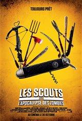 Les scouts et l'apocalypse des zombies Affiche de film