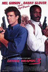 Lethal Weapon 3 Movie Poster