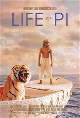 Life of Pi 3D Movie Poster
