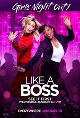 Like A Boss Girls' Night Out Large Poster