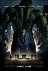 L'incroyable Hulk Affiche de film