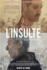 L'insulte (v.o.s.-t.f.) Affiche de film