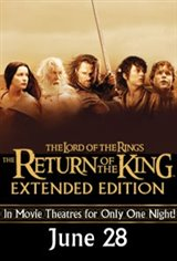 Lord of the Rings: Return of the King - Extended Edition Movie Poster
