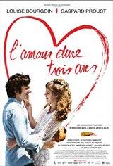 Love Lasts Three Years Movie Poster