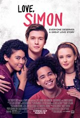 Love, Simon Movie Poster Movie Poster