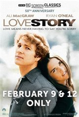 Love Story (1970) 50th Anniversary presented by TCM Large Poster