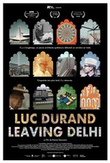 Luc Durand Leaving Delhi (v.o.a.s-t.f.) Affiche de film