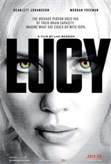 Lucy: The IMAX Experience Movie Poster