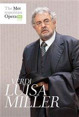 Luisa Miller - Metropolitan Opera Movie Poster
