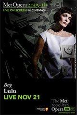Lulu - Metropolitan Opera Affiche de film