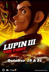 Lupin III: The First Movie Poster Movie Poster
