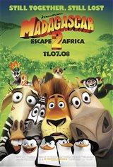 Madagascar 2 : La grande évasion Affiche de film