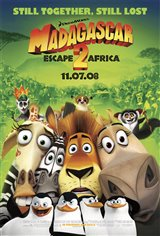 Madagascar: Escape 2 Africa: The IMAX Experience Movie Poster