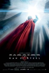 Man of Steel 3D Movie Poster