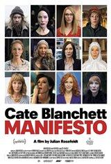 Manifesto (v.o.a.) Affiche de film