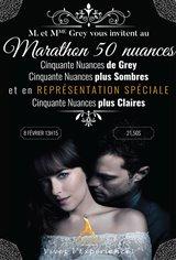 Marathon Cinquante Nuances Affiche de film