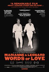 Marianne & Leonard: Words of Love Movie Poster Movie Poster