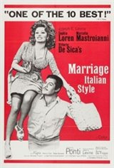 Marriage Italian Style Movie Poster
