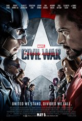 Marvel Studios 10th: Captain America: Civil War (IMAX) Affiche de film